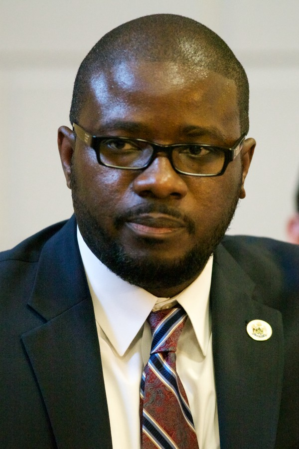Portland School Superintendent Emmanuel Caulk