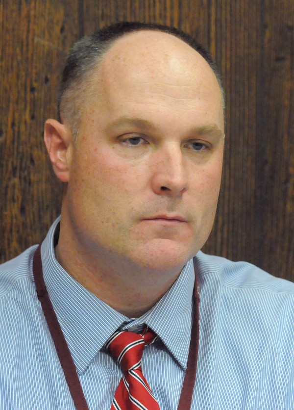 Bangor High School principal Paul Butler