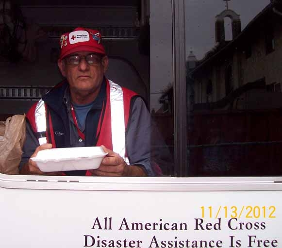 Bill Thomas, of Woodland spent two weeks in November volunteering on Long Island with the Red Cross. He returned to the Empire State on Dec. 8 to help more with recovery efforts.