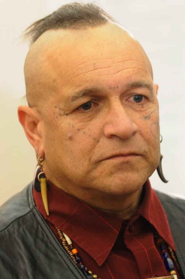 Gkisedtanamoogk, a Wampanoag from the Mashpee community on Cape Cod, Mass., was named as a member of the Wabanaki-State Child Welfare Truth and Reconciliation Commission on Tuesday at a press conference on Indian Island.