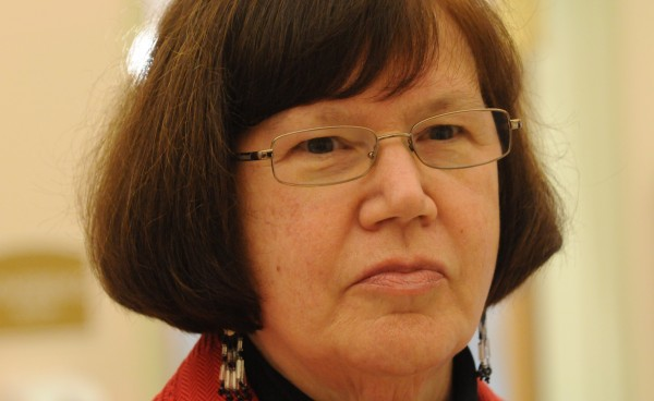 Gail Werrbach of Bangor was named as a member of the Wabanaki-State Child Welfare Truth and Reconciliation Commission on Tuesday at a press conference on Indian Island.
