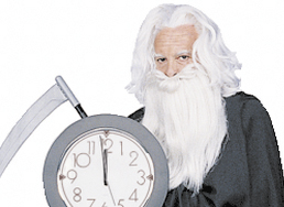 &quotEnjoyable, but it's one more year. The beard gets longer, the scythe gets heavier.&quot — Bob &quotFather&quot Time