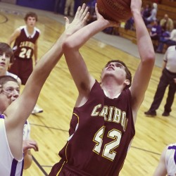 Dayne Savage sparks Caribou boys past Hermon, into EM Class B final