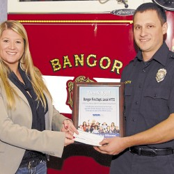 Bangor firefighters to raise funds for Muscular Dystrophy Association during Black Friday