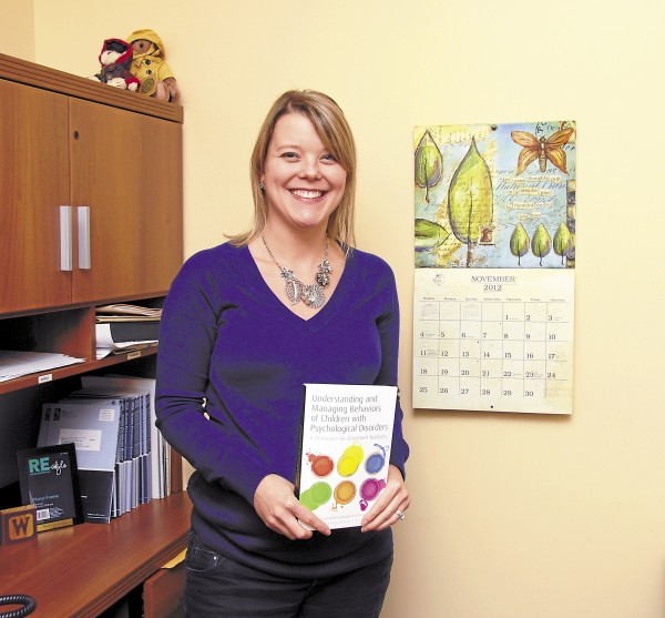 Kara G. Wisniewski, Ph.D., NCSP, is the Brewer School Department school psychologist. She recently co-authored a chapter in the newly released &quotUnderstanding and Managing Behaviors of Children with Psychological Disorders.&quot