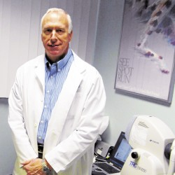 Dr. Phillip Goldthwait will soon open the Mainely Eyes optical center in the former Pearle Vision space at the Bangor Mall.