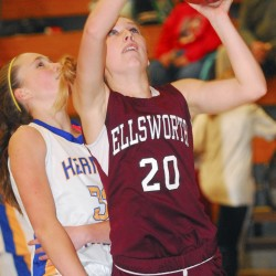 Card, White help Ellsworth girls basketball team defeat John Bapst