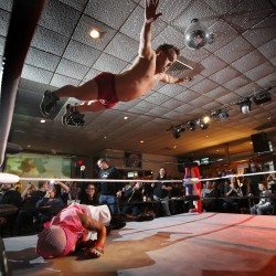 Maine man Tough Enough to be wrestling superstar
