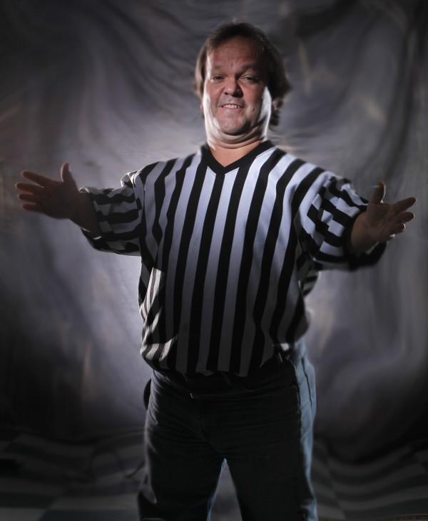 Joe Kidd started wrestling 30 years ago. Now he mostly officiates, leaving the body slams to the younger guys. &quotSomebody just walked up to me one day and asked, 'H˜how would you like to be a wrestler?' I didn'€™t have many job options, growing up in Charlotte, N.C., so I decided to give it a try. [This job] has taken me all over the world. I€'ve been to four continents. I'm 48 and I'€™m still having fun,&quot he said.