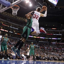 Celts hold off Clippers with newcomers in uniform