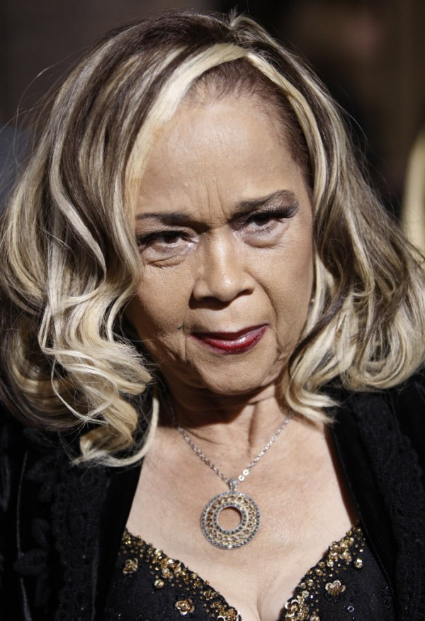 This Nov. 24, 2008 file photo Etta James arrives at the premiere of &quotCadillac Records&quot in Los Angeles.  James, the feisty rhythm and blues singer whose raw, passionate vocals anchored many hits and made the yearning ballad &quotAt Last&quot an enduring anthem for weddings, commercials and even President Barack Obama, died Friday, Jan. 20, 2012. She was 73. James had been suffering from dementia and kidney problems, and was battling leukemia. In December 2011, her physician announced that her leukemia was terminal.