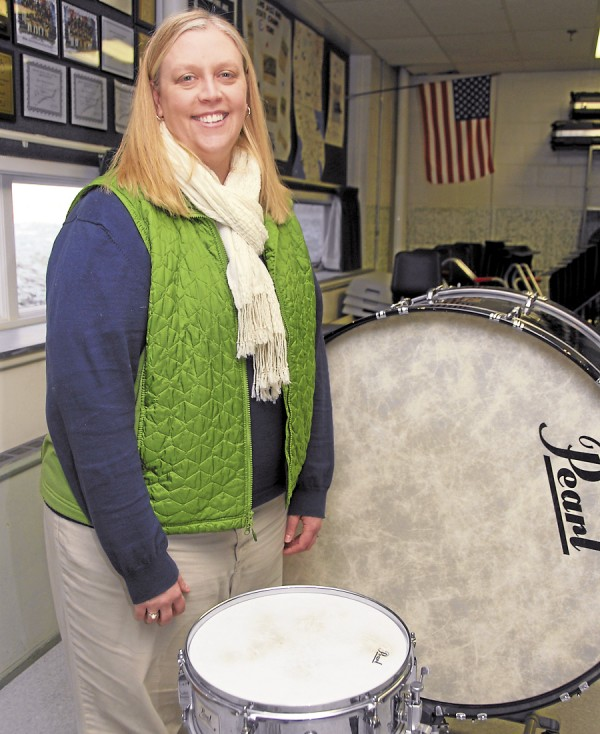 Shianne Priest, the music teacher at Leonard Middle School in Old Town, asked her music-appreciation students last September what they wanted to undertake as a service-learning project that involved music. The students decided to compose a song that would help raise funds for the Shaw House in Bangor.