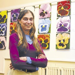 Blake Library features UMFK art students' work