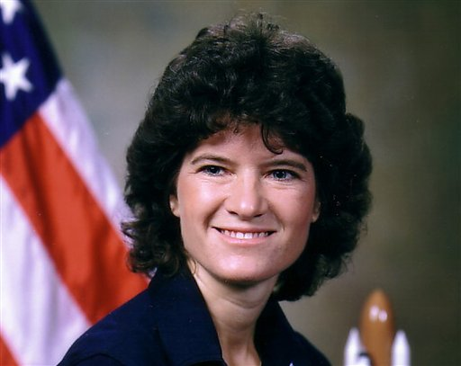 This undated photo released by NASA shows astronaut Sally Ride. Ride, the first American woman in space, died Monday, July, 23, 2012.  She was 61.