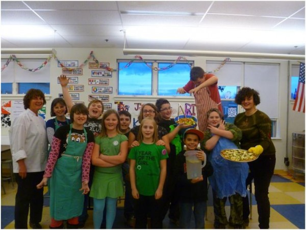 The Rockland After School Alliance Cooking Matters class