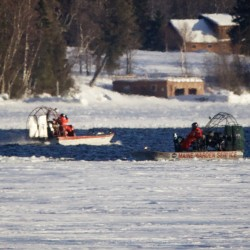 Search fails to locate snowmobilers missing on Rangeley Lake