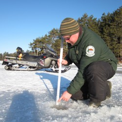 Officials caution ice anglers, snowmobilers