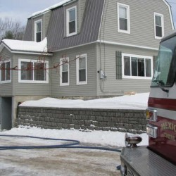 Fire departments respond to improperly capped chimney hole in Rumford apartment