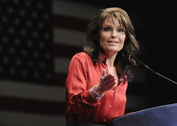 Former Alaska Governor Sarah Palin in October.