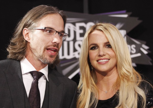 Britney Spears and her then-boyfriend, Jason Trawick, at the 2011 MTV Video Music Awards in Los Angeles.