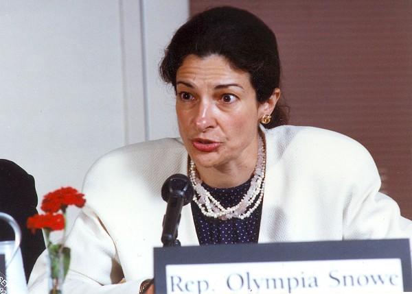 Olympia Snowe in 1992