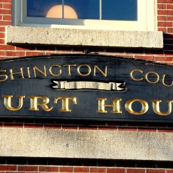 Washington County commissioners sign land lease to allow courthouse expansion
