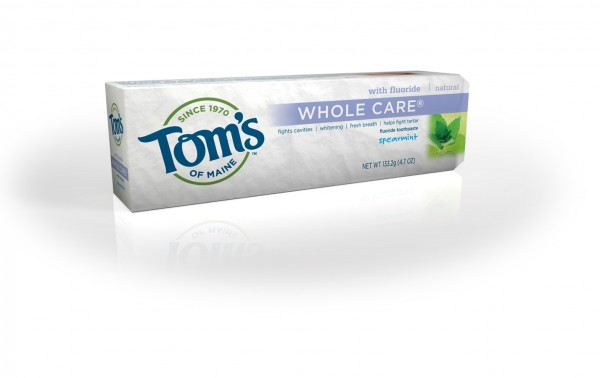 Tom's of Maine, the company known for its natural toothpaste, is laying off 7 people in Kennebunk and shifting its research and development activities to a facility owned by its parent company, Colgate-Palmolive.