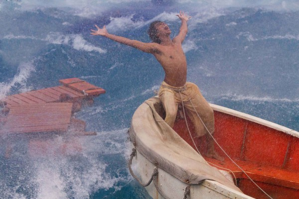 Suraj Sharma, playing the role of the lead character, acts in a scene in the film &quotLife of Pi.&quot