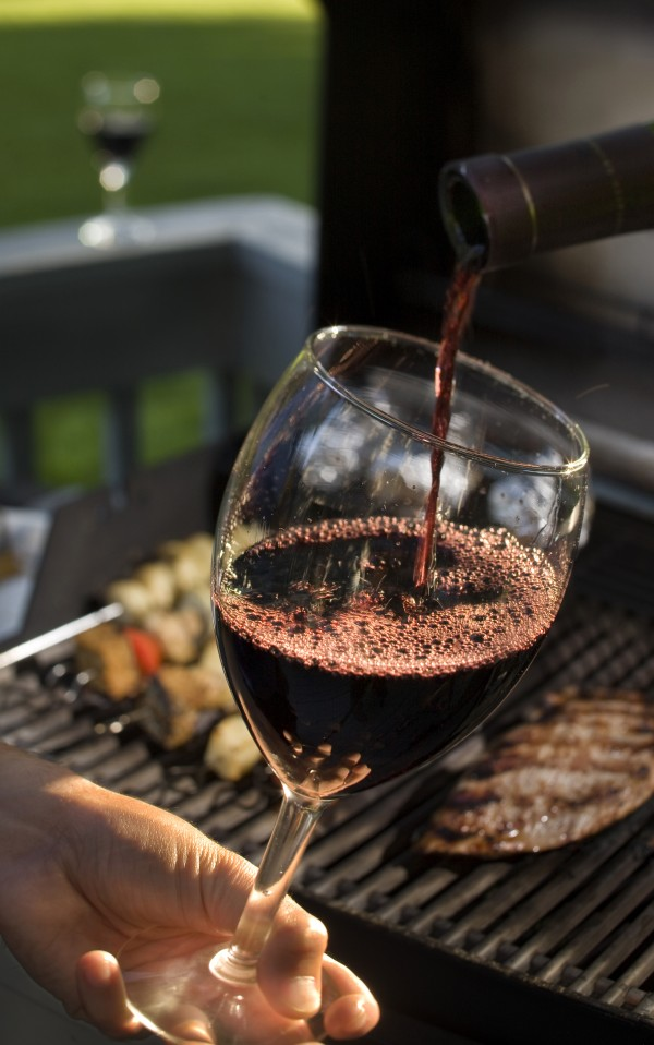 Some red wine around the grill is never a bad way to go, but not so Bordeaux. &quotI hate to say it, but Bordeaux is out right now. Pricing has gotten extremely high,&quot said Evan Goldstein, a master sommelier, wine writer and president of Full Circle Wine Solutions in San Carlos, Calif.