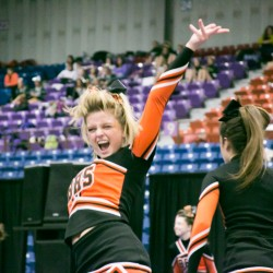 Medomak cheerleaders fired up after winning regional championship