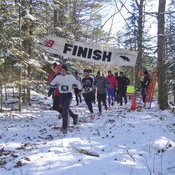 Peter Keeney becomes a three-peater at Snowshoe Nationals