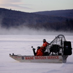 Ice conditions may hinder use of underwater vehicle in Rangeley Lake recovery effort