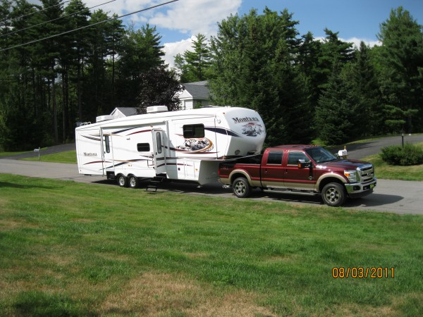 Donna and George have taken their truck and fifth wheel RV on the road for an eight-month winter expedition.