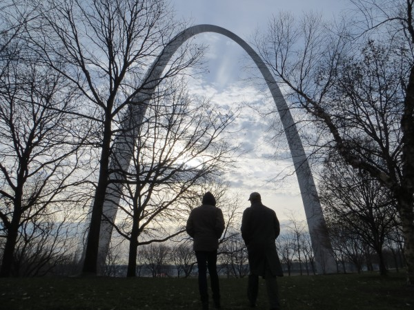 The Gateway Arch represents the role that the city of St. Louis played as the threshold of westward expansion for the United States during the 19th century.