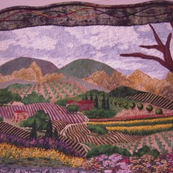 Contemporary quilting class at Farnsworth