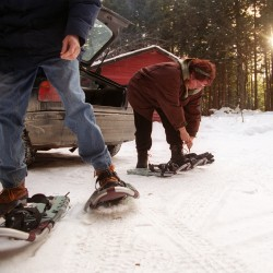 Snowshoes are the great winter equalizer