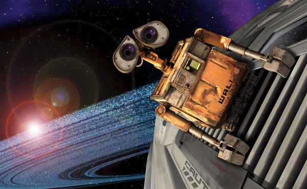 In this image released by Walt Disney Co., a scene from the Disney/Pixar's animated feature &quotWall-E&quot is shown.