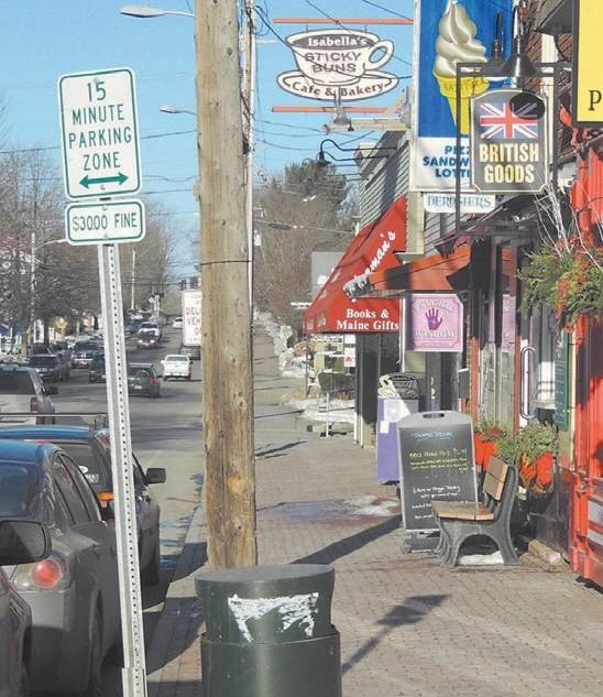 Parking requirements in Freeport's retail district could change if town officials adopt a Planning Board proposal next month. The revisions would reduce the amount of parking required of small businesses, make the slots less costly and liberate as many as 100 spaces for other use, according to Town Planner Donna Larson.