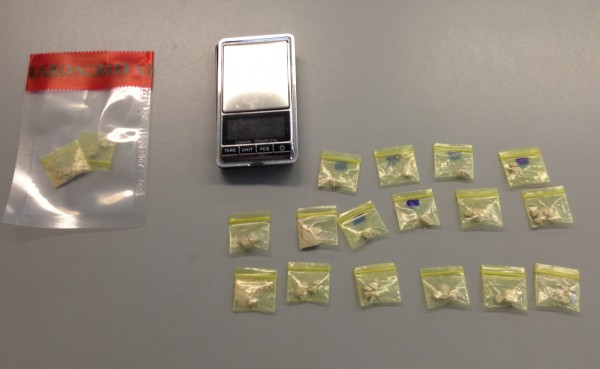 Michael Constabile, 23, is facing a charge of aggravated trafficking in heroin. A police search of Constabile's apartment turned up 8.4 grams of heroin in a bedroom, said Saco Deputy Chief Jeffrey Holland. The drugs had been packaged into 18 plastic baggies worth a total of $1,350.