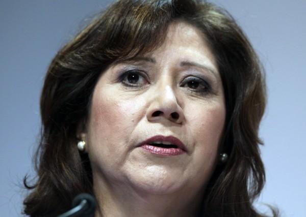 U.S. Labor Secretary Hilda Solis