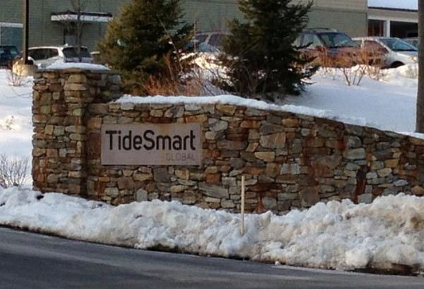 The debate is ending over the TideSmart Global sign at 380 U.S. Route 1 in Falmouth.