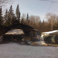 Fire destroys Hodgdon home, floral business spared