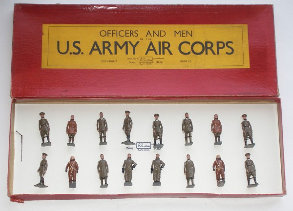 The boxed set of toy soldiers by Britains brought $5,860 when Old Toy Soldier Auctions sold off collections last summer.