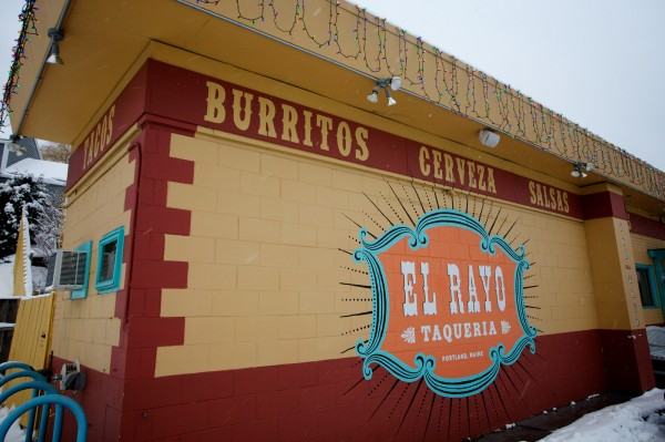 El Rayo Taqueria in Portland offers $5 burritos whenever the city calls a parking ban.
