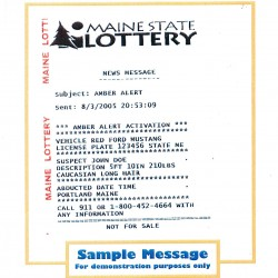 Maine police departments make Amber Alerts now available through Facebook