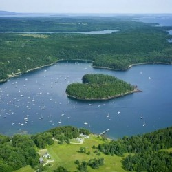 Heart-shaped Maine island goes back on the market for $1.275 million