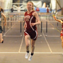 Bangor sweeps PVC/EMITL titles; MacLean, Jackson, Looker win 3 events apiece in final meet at old field house