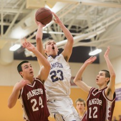 Zach Gilpin helps Hampden boys basketball team rally past Brunswick