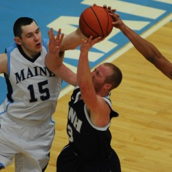 Mike Allison embraces unselfish role for UMaine men's basketball team