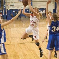Pease 3-pointer at buzzer lifts Dexter girls basketball team over Central in OT